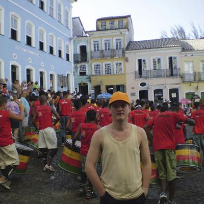 Sambarhythmen in Brasilien