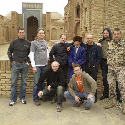 eine Expedition ins Inland von Usbekistan
