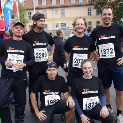 Team Borderline beim Stadtlauf in Weimar