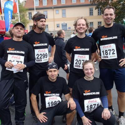 Team Borderline beim Stadtlauf in Weimar
