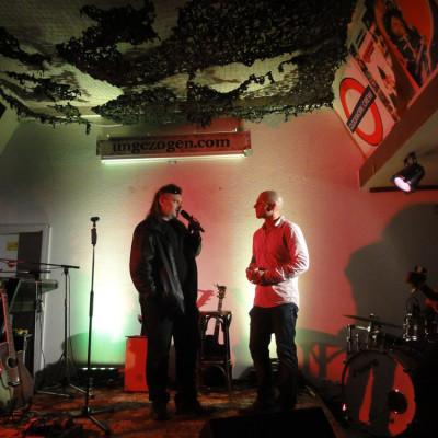Christian mit Andrés Balhorn, dem Gründer von POWERVOICE