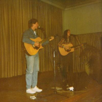 Hermann mit seinem ersten Duo