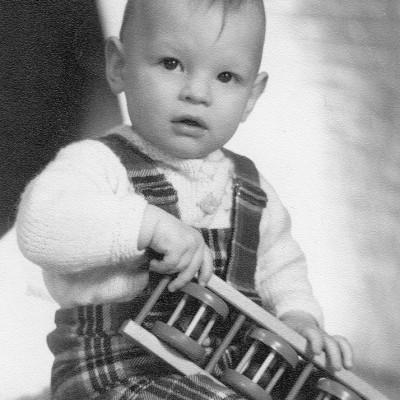 Martin u. sein erstes Instrument