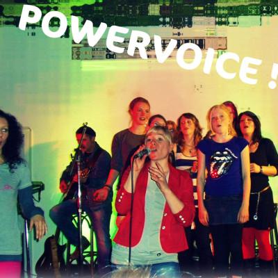 gemeinsames Konzert der Powervoice-Schüler zur Eröffnung in Weimar